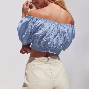 Urban Outfitters Tops - NWT Urban Outfitters Off the shoulder Crop Top